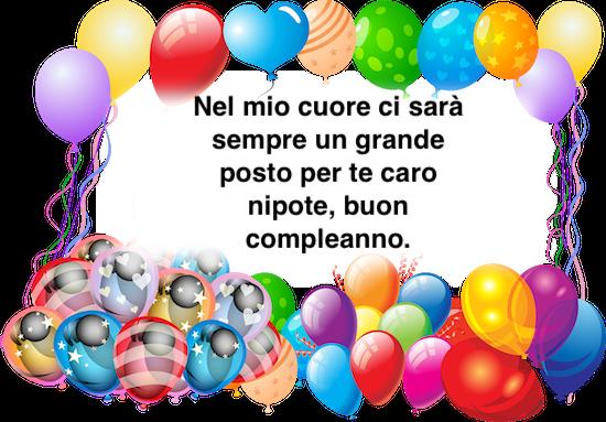 Frasi Di Buon Compleanno Per Nipote Auguri Di Compleanno