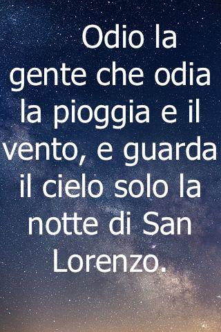 Frasi Sulla Notte Di San Lorenzo